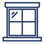 Icon for window cleaning